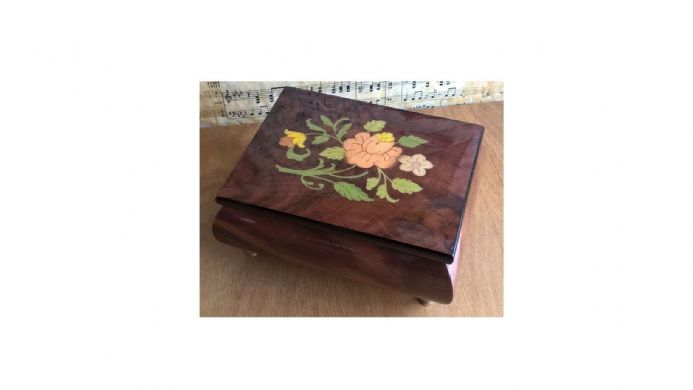 Musical Jewellery Box MAD415FLBRL